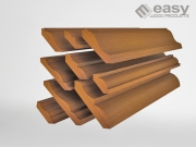 MOULDINGS, BASEBOARDS, CORNICE, DOOR & WINDOW CASING, DADO CHAIR RAIL, CEILING EAVES